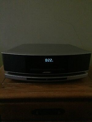 Bose Wave SoundTouch Music System IV Remote, CD Player and Radio- Silver