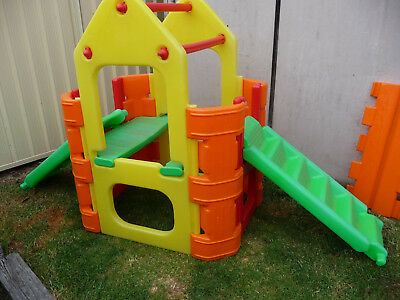 Ampi Play House Cubby House Activity Climber Play Equipment Boys Girls Child