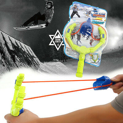 Fun Winter Activities Toy Skiing Snowball Fight Snowball Launcher For Kids Child