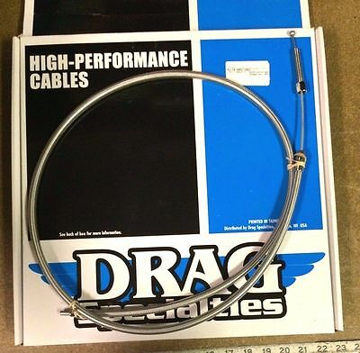 """Drag Specialties 80-86 Fx / Fl Braided 59 5/16"""" +6 H.e. Clutch Cable - 0652-1452"""