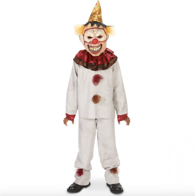 CarnivalClownCostume halloween ScaryForKids Teens Adult Pennywise IT Horror