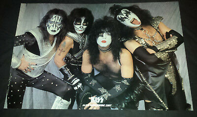 Kiss:poster 1996-97 alive world wide (tour poster)