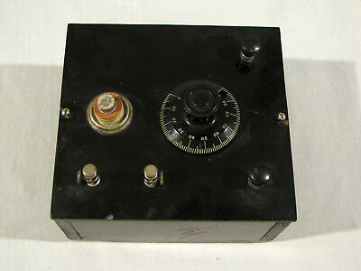 Antique HOME MADE CRYSTAL RADIO - FOR RESTORATION