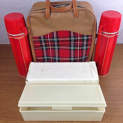 NOS Vintage 1974 King Seeley Thermos Co. Set 2410 Sandwich Box Picnic Camping #9