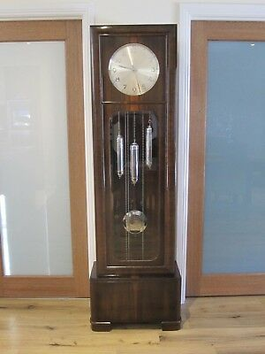 Art Deco Walnut Grandfather clock