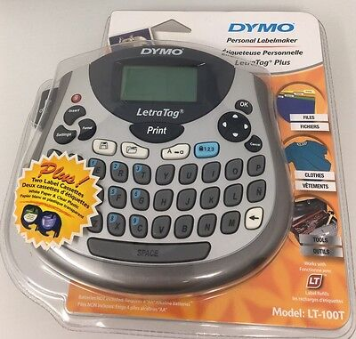 Dymo LetraTag LT-100T Label Thermal Printer New