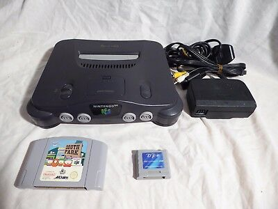 Nintendo 64 N64 Console (PAL) + South park game and Memory Pak - No controller