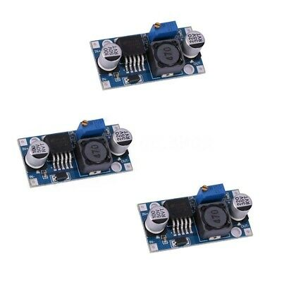3pcs LM2596S DC-DC Buck Converter Adjustable Power Supply Step Down Module A2M7