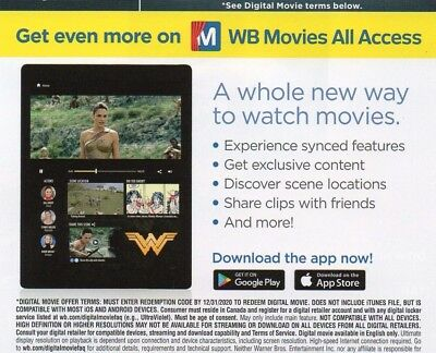 Wonder Woman DC (2017) Digital HD Code ONLY ****BRAND NEW**** via email