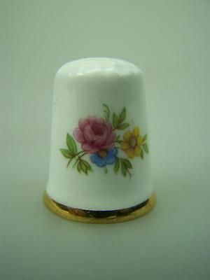 Thimble Artone England hand painted floral decoration