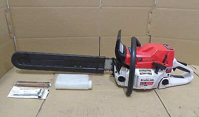 "92cc Petrol Commercial Chainsaw 24"" Bar E-Start Chain Saw Pruning"