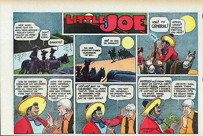 20 Large Nm 1940/1941 Little Joe Sunday Pages
