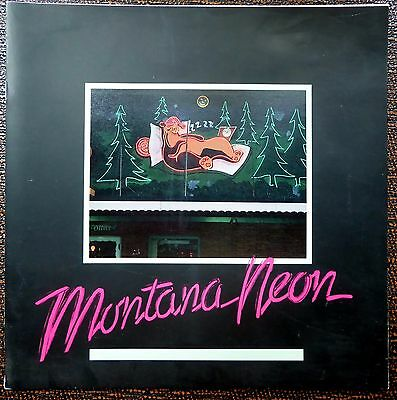 MONTANA NEON Photographic Art exhibit catalog.  Michael Crummett photographer