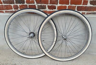 RIGIDA SUPERCHROMIX 650 Roue Vélo Ancien Wheel Old Bike