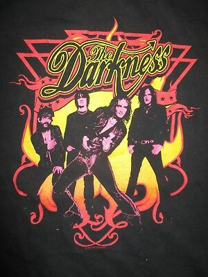2004 British Rock THE DARKNESS (MED) T-Shirt