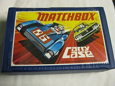 1971 Matchbox Carry Case Lesney Product Double Layer Near Mint Cond., Never Used