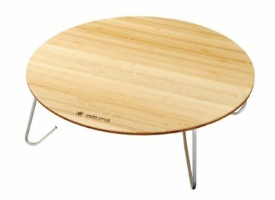 Snow Peak Snow Peak One Action Table In Bamboo M Lv-071T New