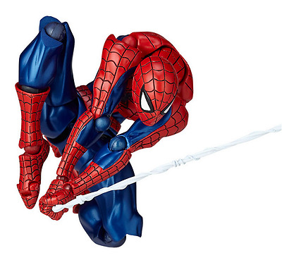 Anime Revoltech Series No.002 Spider Man PVC Action Figure Toy Collection Gifts