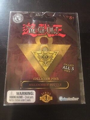 Yu-Gi-Oh Collector Pin Series 1 Millennium Puzzle Yugioh
