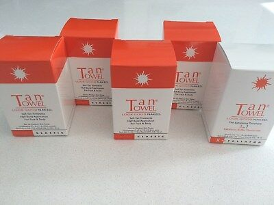 TANTOWEL Classic  - 10 pack x 4 boxes HALF BODY - Clearance + FREE GIFT
