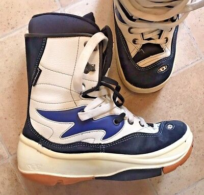 Mens Northwave Navy/White Snowboarding Boots. UK Size 11