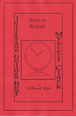 Jefferson Golden Hour Mystery Clock - How to