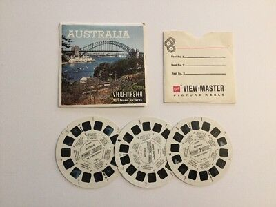 Viewmaster Reels x3 Australia The Smallest Continent