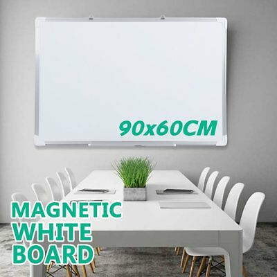 Magnetic Board Portable White board Commercial Quality 90 x 60cm Home Office RO