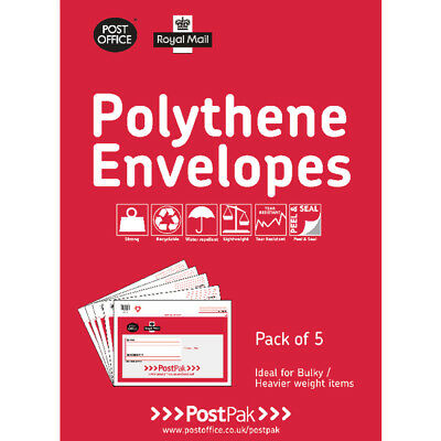 Polythene 460x430 Envelopes (Pack of 20)