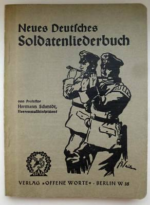 soldier's Songbook, 1935
