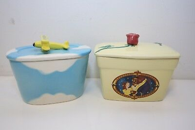 Utterly Butterly Butter Dish Clover Beauty And The Beast Collector Dishes **
