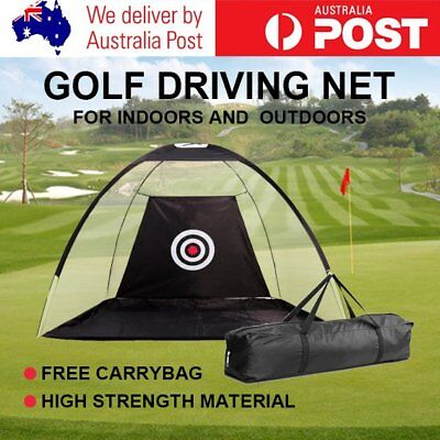 Portable Golf Training Net Tent Practice Driving Soccer Cricket Target RO