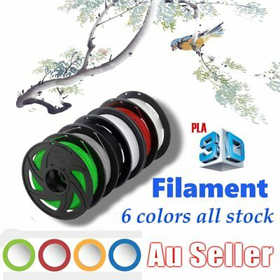 3D Printer Filament PLA 1.75mm 1kg/Roll Multiple Colours 300M MakerBot Pro TOY R