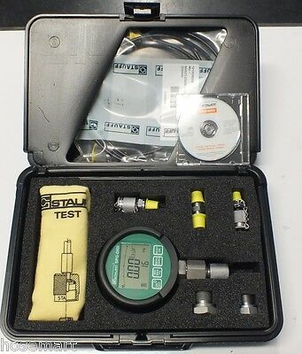 Stauff Digital Pressure Gauge Kit   0 - 600 Bar German Made 9000 Psi