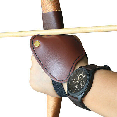 Archery Hand Guard Protector Leather Archery Hunting Protective Gloves Left hand