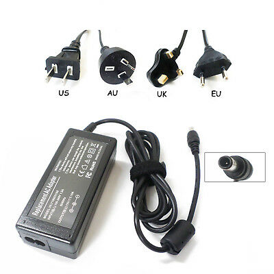 New Ac Adapter Power Charger 19V 60W for Samsung NP-N120 NP-N130 NP-N140 NP-N150