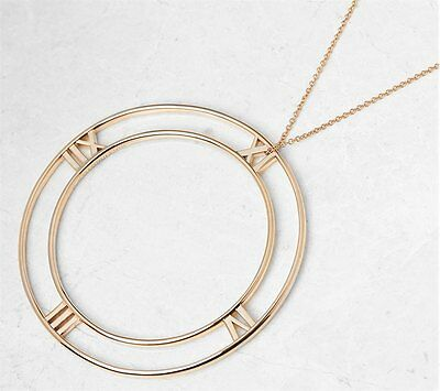 TIFFANY & Co.18K Or Rose Grand Atlas Collier - com957