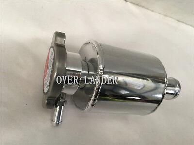 Universal Alloy Radiator Coolant Expansion Tank & Free Cap