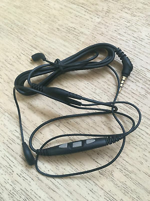 SHURE cable with remote and mic