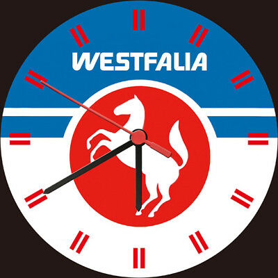 Westfalia Horse Adornment Wall Clock