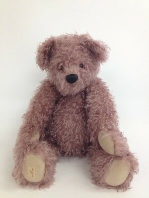 "Dean's - Purple Violet Curly 22"" Limited Edition No. 51 Teddy Bear (S2 _069)"