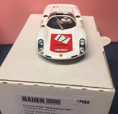 Porsche 910/6 Slot car 1/32 Bauer