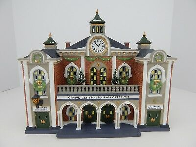 Dept 56 Christmas in the City Grand Central Railway Station 58881 Good Condition