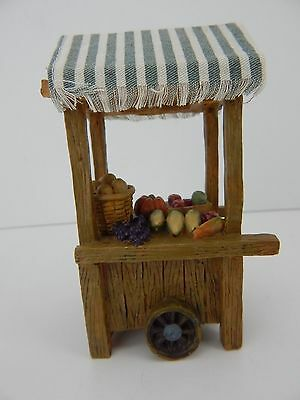 Fontanini Vegetable or Fruit Cart #50210 Overall Good Condition Nice Accessory!