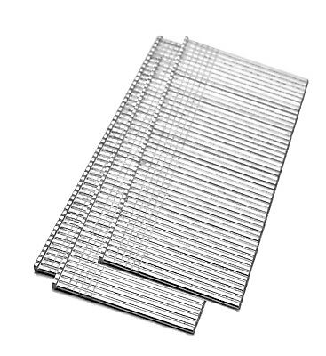 meite Galvanized Brad Nails 18 Gauge 1 Inch 5000 per box (2 Boxes)