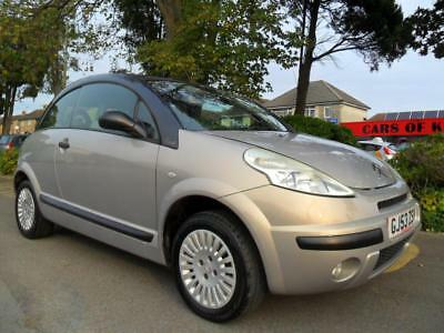 Citroen C3 Pluriel 1.4 2003 Convertible Complete With M.o.t Hpi Clear Inc