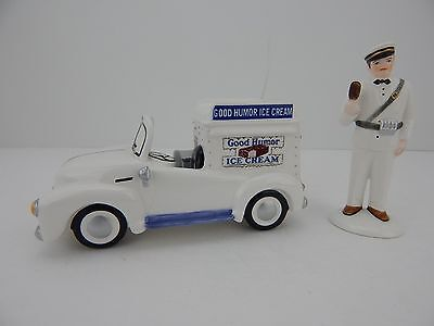 Dept 56 The Original Snow Village It's Time For An Icy Treat #55013 New