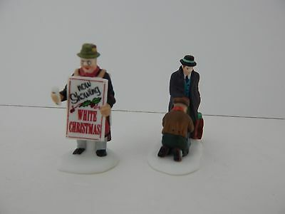 Dept 56 Christmas in the City All Around The Town #55450 Never Displayed