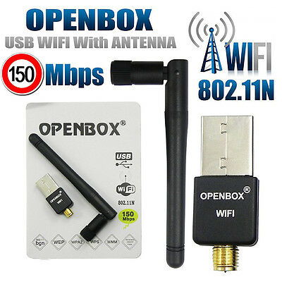 Skybox Wifi Dongle USB Adapter Antenna For MAG 250 254 Skybox Openbox V8S TV BOX