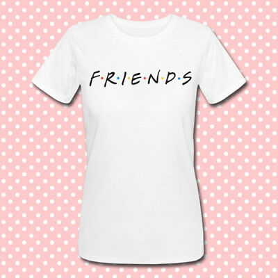 T-shirt donna Friends inspired, logo serie tv, personalizzabile!